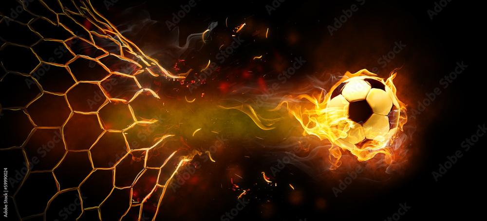 Leinwandbild Motiv - Konstantin Yuganov : flamy symbol