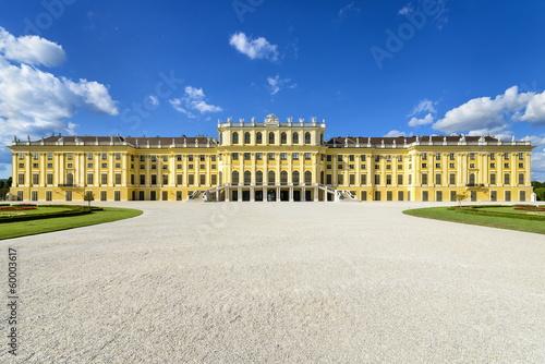 Staande foto Wenen Schloss Schönbrunn Wien