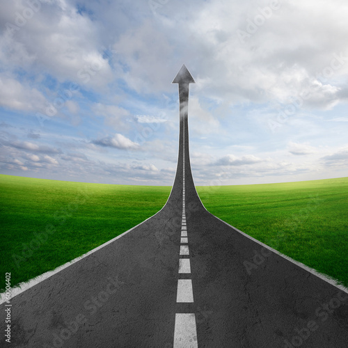 Fotografie, Obraz  Road to heaven
