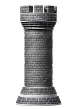 Brick Chess Castle Piece