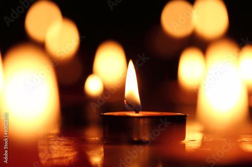 Fotografie, Obraz  Candles light.