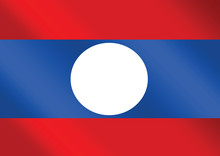 Flag Of Laos Themes Idea Design