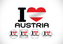 National Flag Of Austria Themes Design Idea
