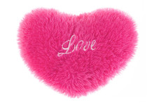 Fluffy Heart-shaped Pillow