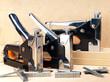 metal stapler for repair work in the house