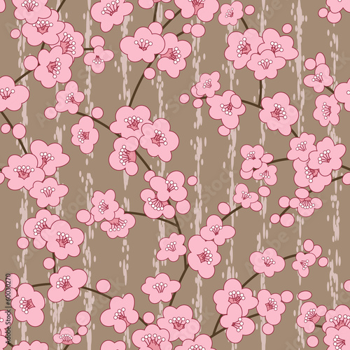 bezszwowa-wisnia-sakura-kwiat-kwiaty-wzor