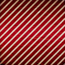 A Crumpled  Paper In A Red And White Stripe Pattern For Use As A