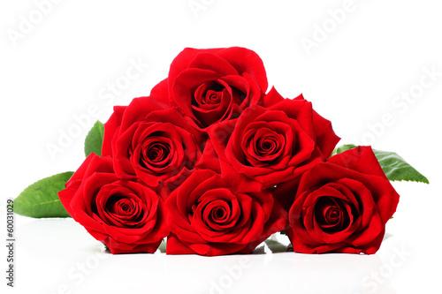Staande foto Roses Beautiful red roses