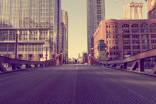 Chicago Bridge - Vintage Picture Effect