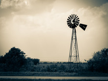 Old Weathered Windmill