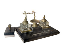 Inkstand Late 19th Century