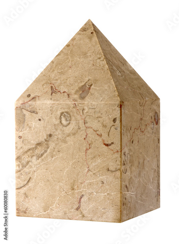 the cubic stone Masonic Canvas Print