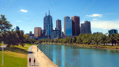 In de dag Australië Melbourne, Victoria, Australia