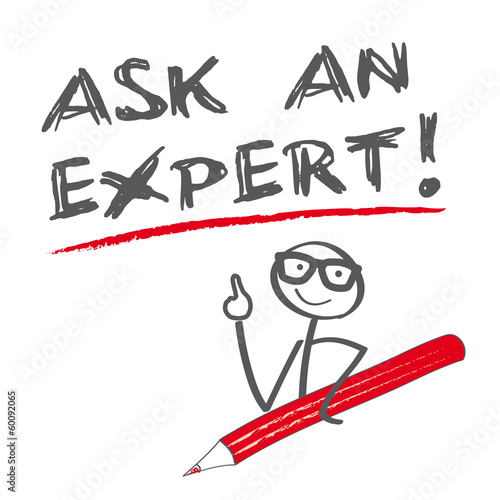 ask an expert Wallpaper Mural