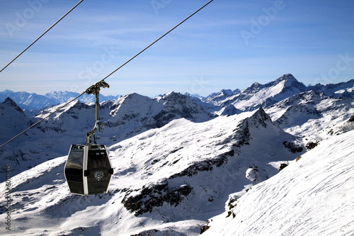 Fotobehang Wintersporten Passo dei Salati