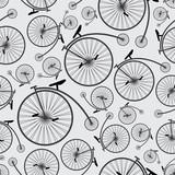 historyczny wzór rowerowy eps10 - 60121887