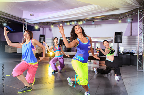 zumba and aerobics girls