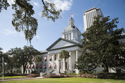 Foto  Tallahassee State Capitol buildings Florida USA