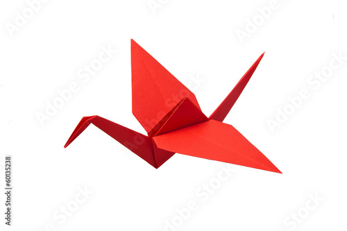 Photo  Red crane