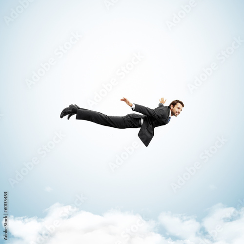 Foto flying man