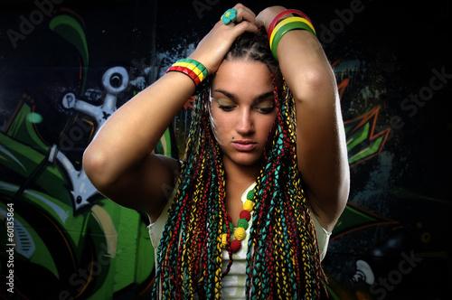 Obraz Young Woman - fototapety do salonu