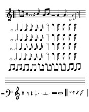 Musical Set Notes With Musical...