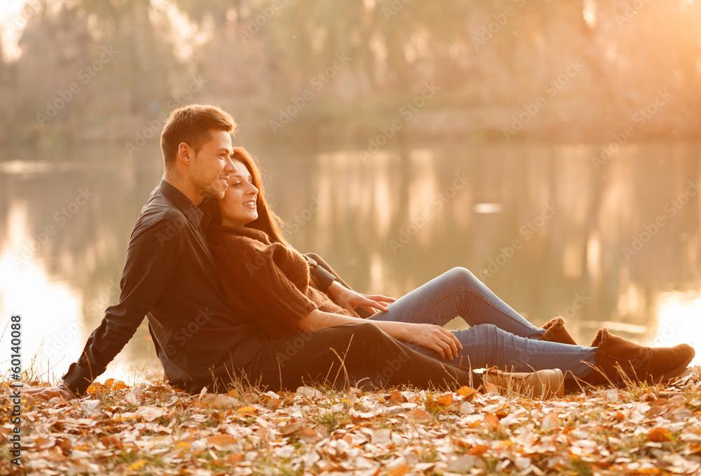Fototapety, obrazy: romantic evening