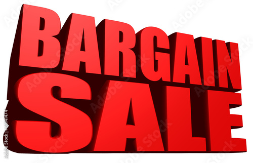 Photo  Bargain sale