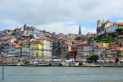 Spoed Foto op Canvas Mediterraans Europa Porto Old City River View, Porto, Portugal