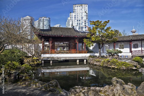 Chinese Garden in Vancouver, British Colombia, Canada