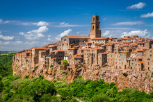 Pitigliano City On The Cliff, ...