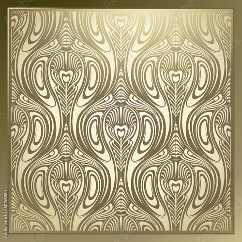 Fotografía  Seamless Art Nouveau