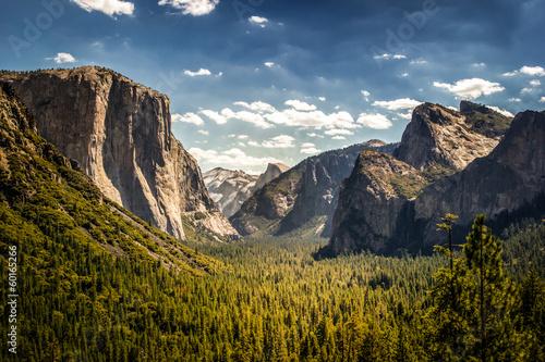 Fotobehang Natuur Park Yosemite, Parco Nazionale in California