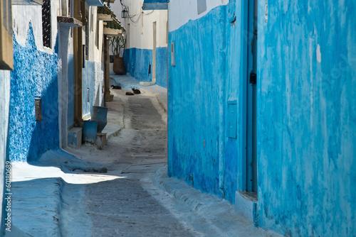 Foto op Canvas Marokko rabat medina