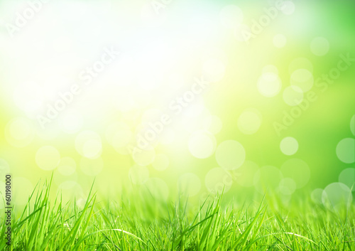 Spoed Foto op Canvas Lente Abstract floral background