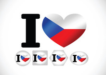 National Flag Of Czech Republic Themes Idea