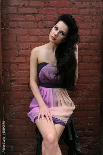 Fototapety, obrazy: Model portrait at location photo shoot