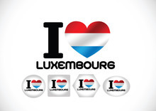 National Flag Of Luxembourg Themes Idea
