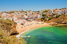 Strand In Der Algarve, Portugal