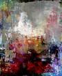 canvas print picture - malerei texturen abstrakt