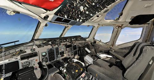 Valokuva  Fliying empty cockpit