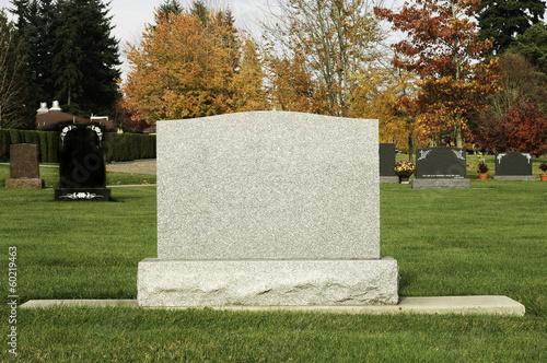 Everlasting Grave Stone Canvas