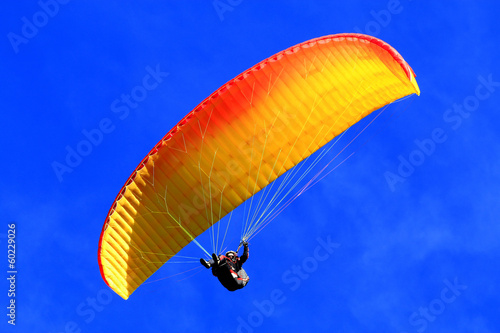 Canvas Prints Sky sports Parapente, parapentiste