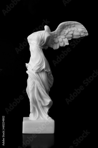 Fotografija  The Victory of Samothrace is a marble sculpture of an unknown ar