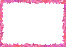 Valentine's Pink Frame