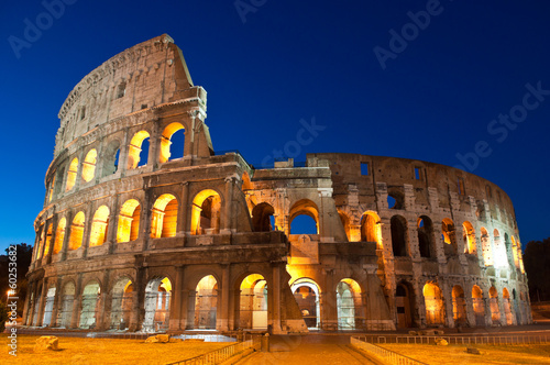 Spoed Foto op Canvas Rome Colosseum, Colosseo, Rome