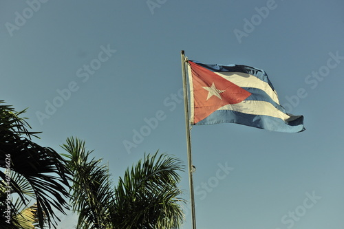 Fotografie, Obraz  The Cuban flag