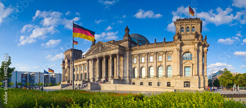 Cadres-photo bureau Berlin Reichstag, Berlin