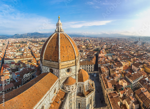 Photographie  Cathedral Santa Maria del Fiore in Florence, Italy