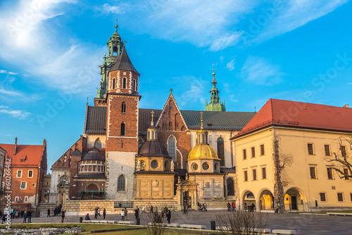 Fototapeta Poland, Wawel Cathedral  complex in Krakow obraz